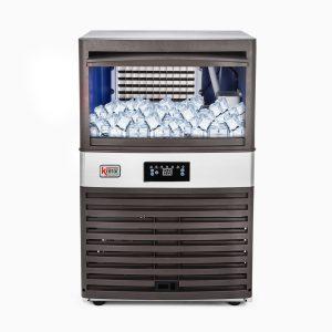 Máquina de hielo en cubo